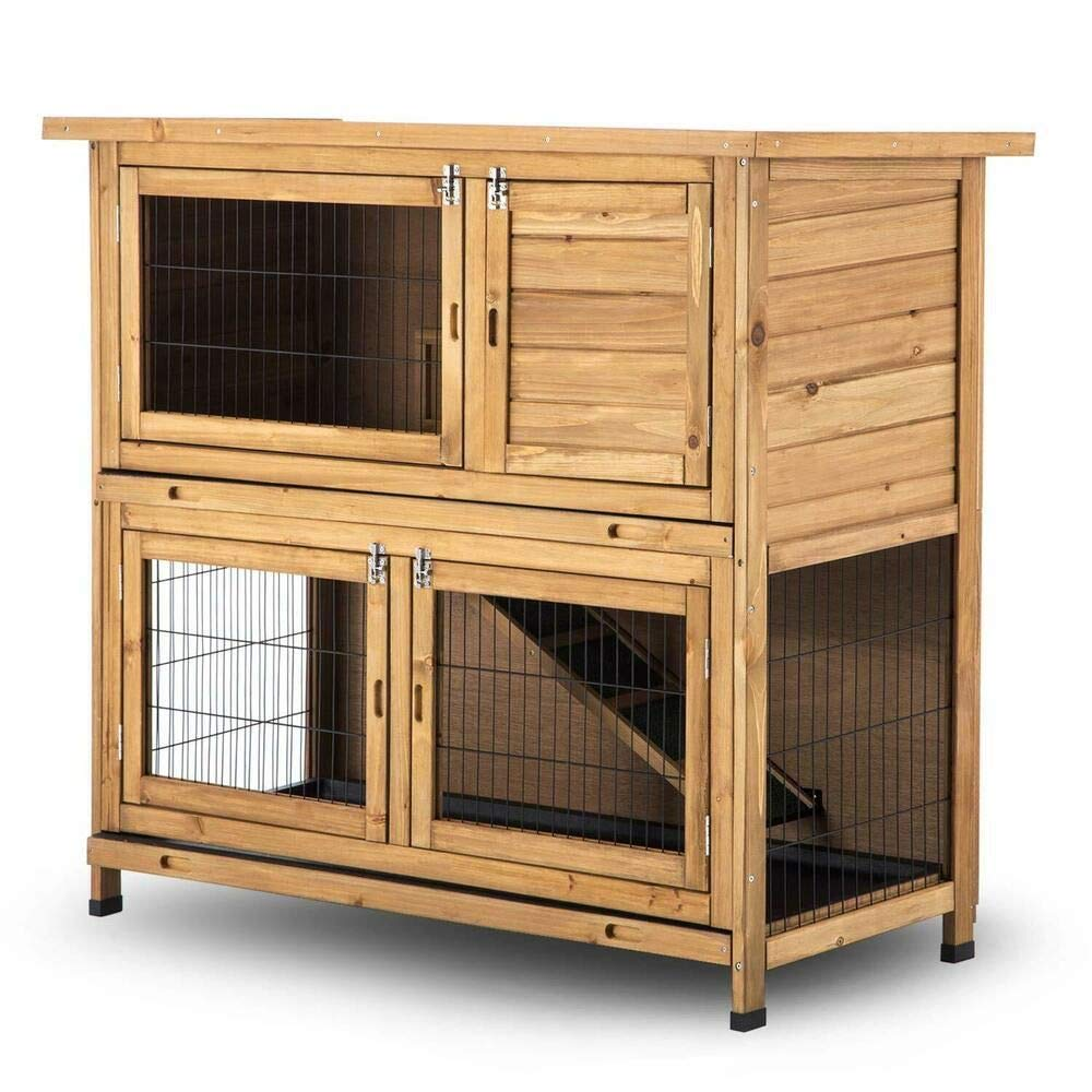 Lovupet 2-Story Outdoor Wooden  review