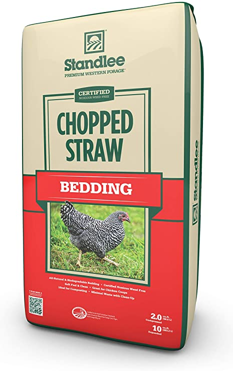 Standlee Hay Company Wheat or Barley Chopped Straw Bedding review