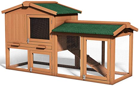 Tangkula Wooden Large Outdoor Chicken Poultry Cage review