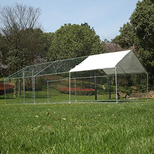 Walsport Large Chicken Walk-in Metal Hen Cage  review