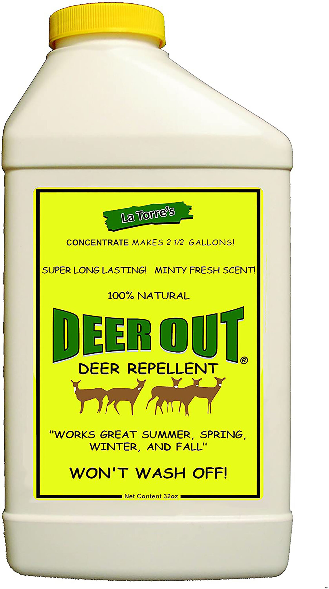 Concentrate Deer Repellent