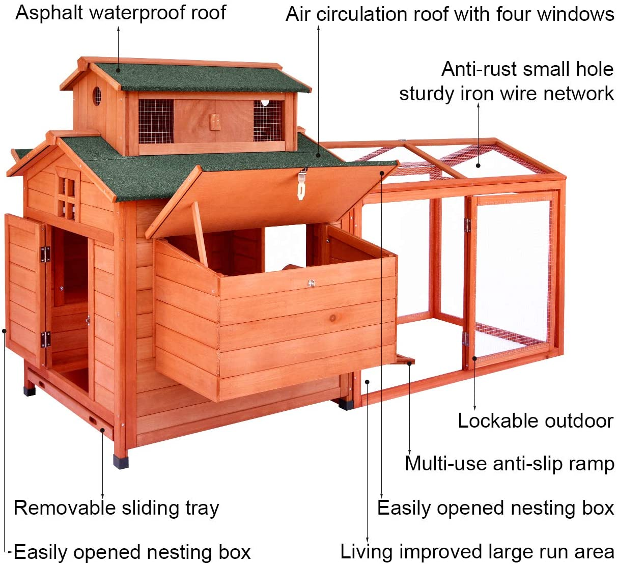 LAZY BUDDY Chicken Coop review