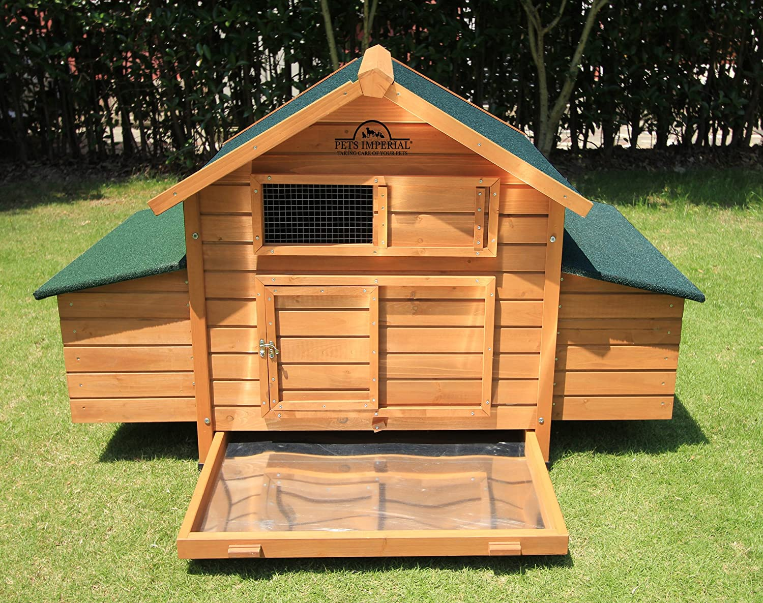 Large Chicken Coop with 2 Nest Boxes Suitable review