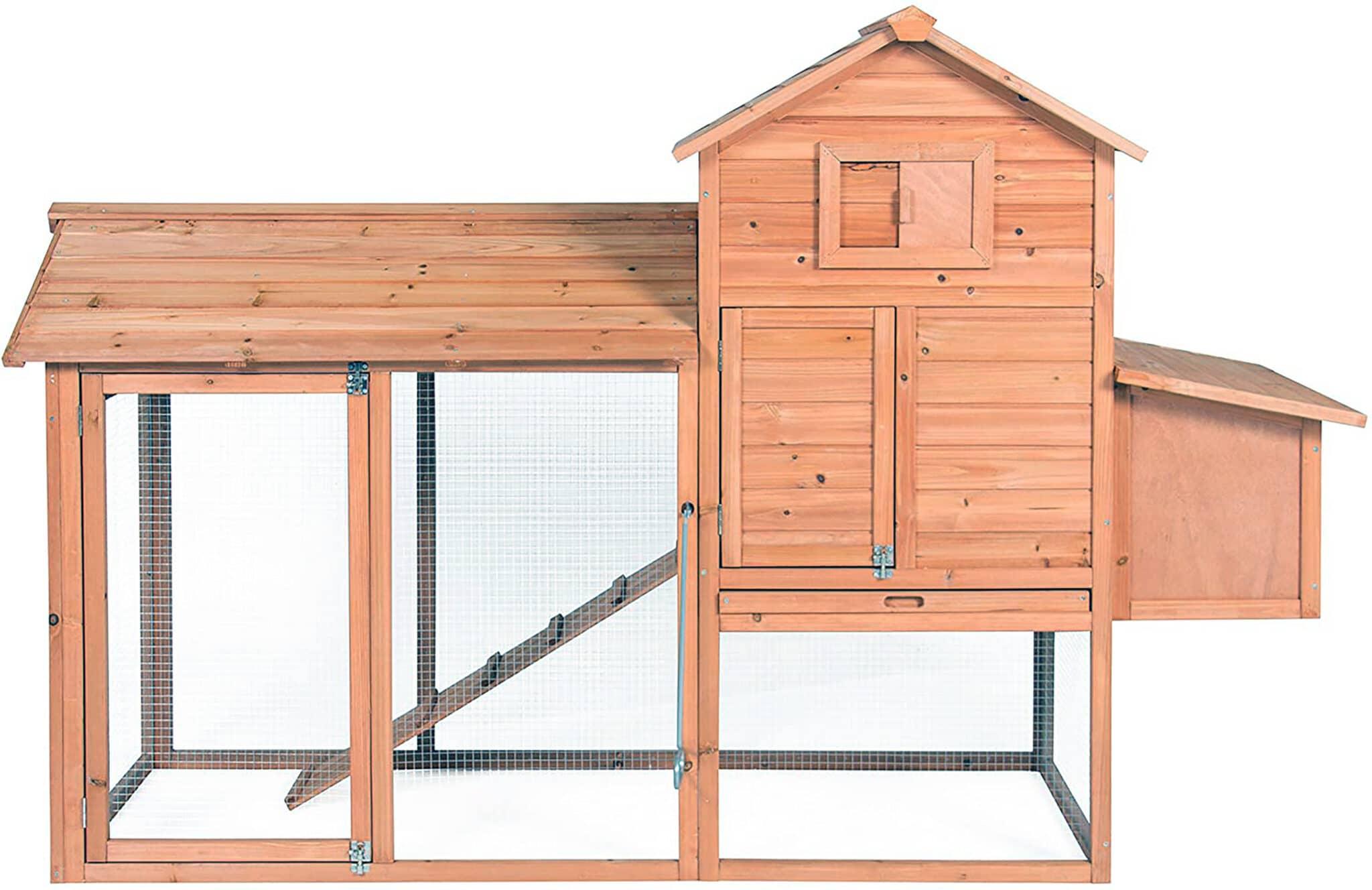 top wooden coop