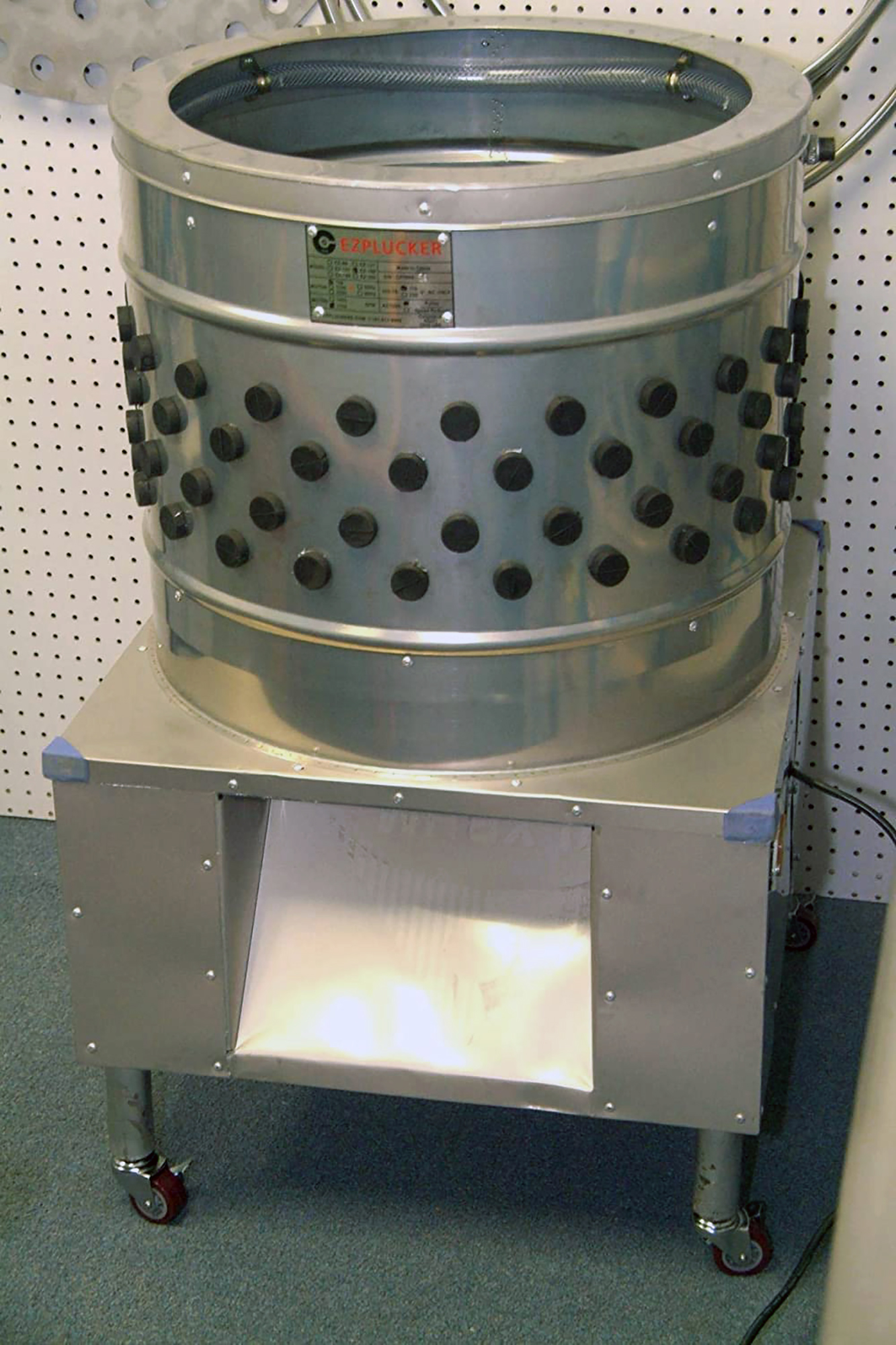 Stainless Steel Chicken Plucker Defeather Machine