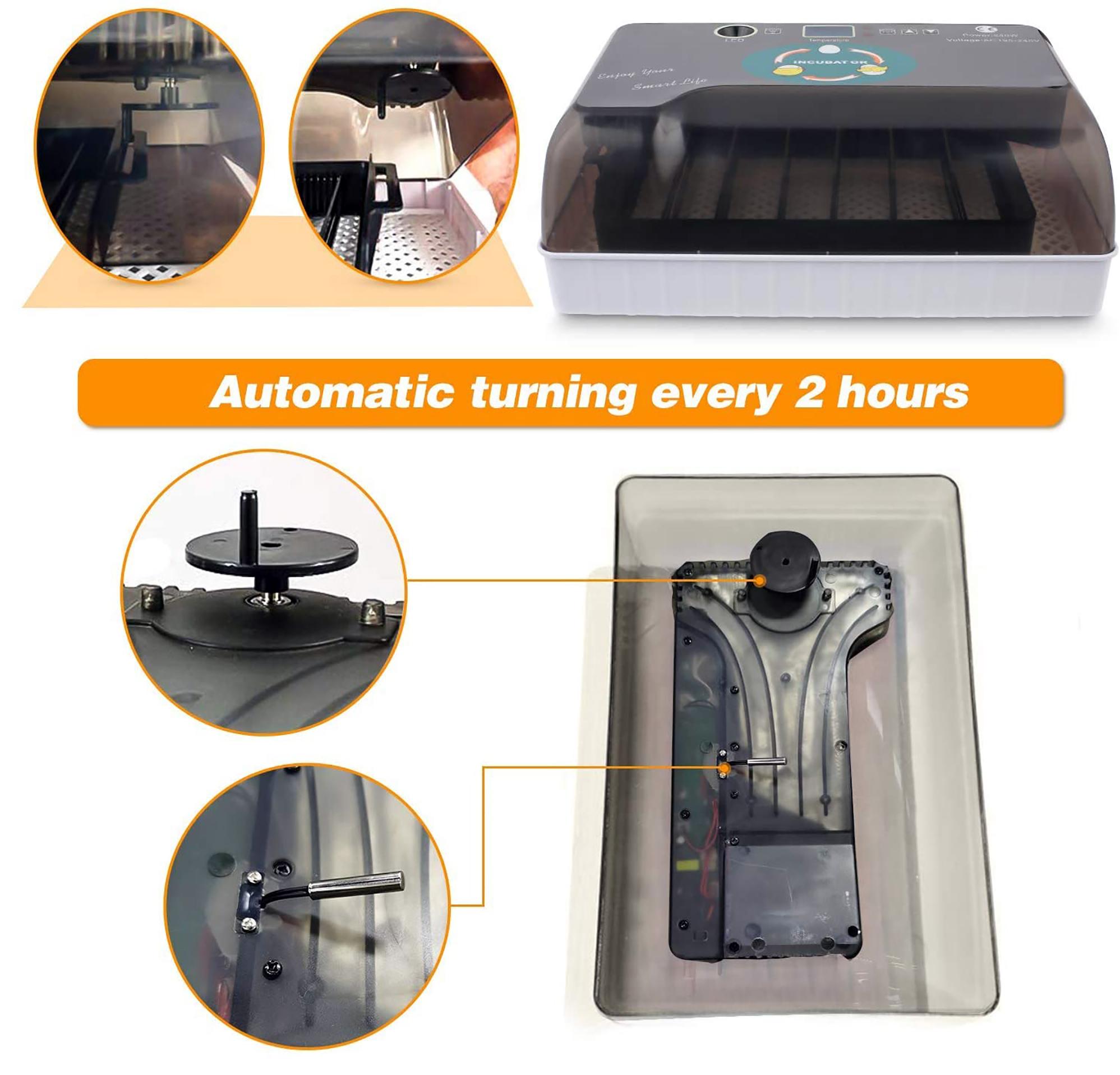 automatic turning incubator