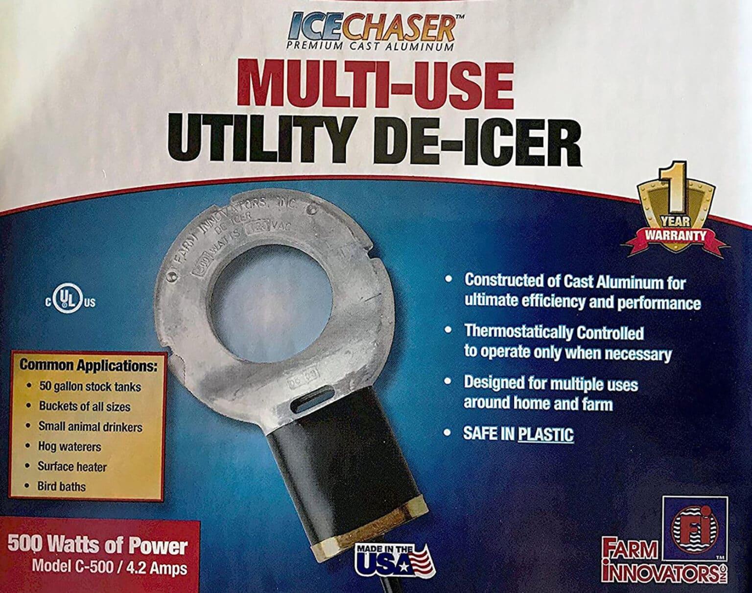 Submergible Cast Aluminum Utility De-Icer review