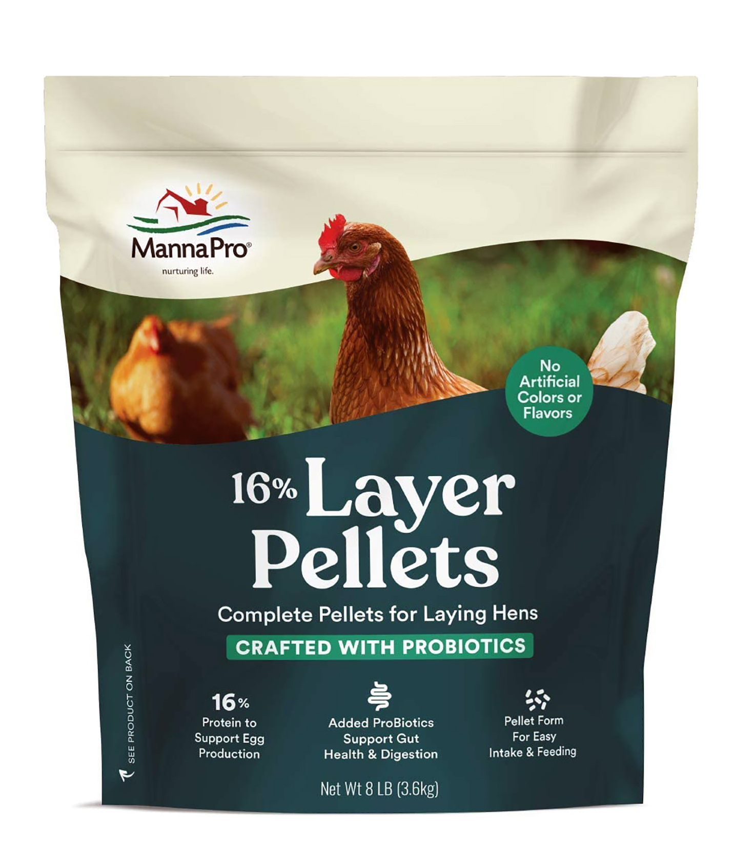 16% with Probiotic Pellets review