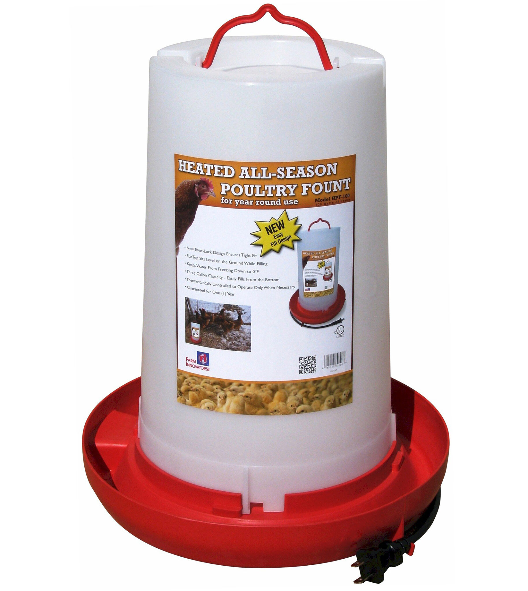 Best heated automatic chicken waterer