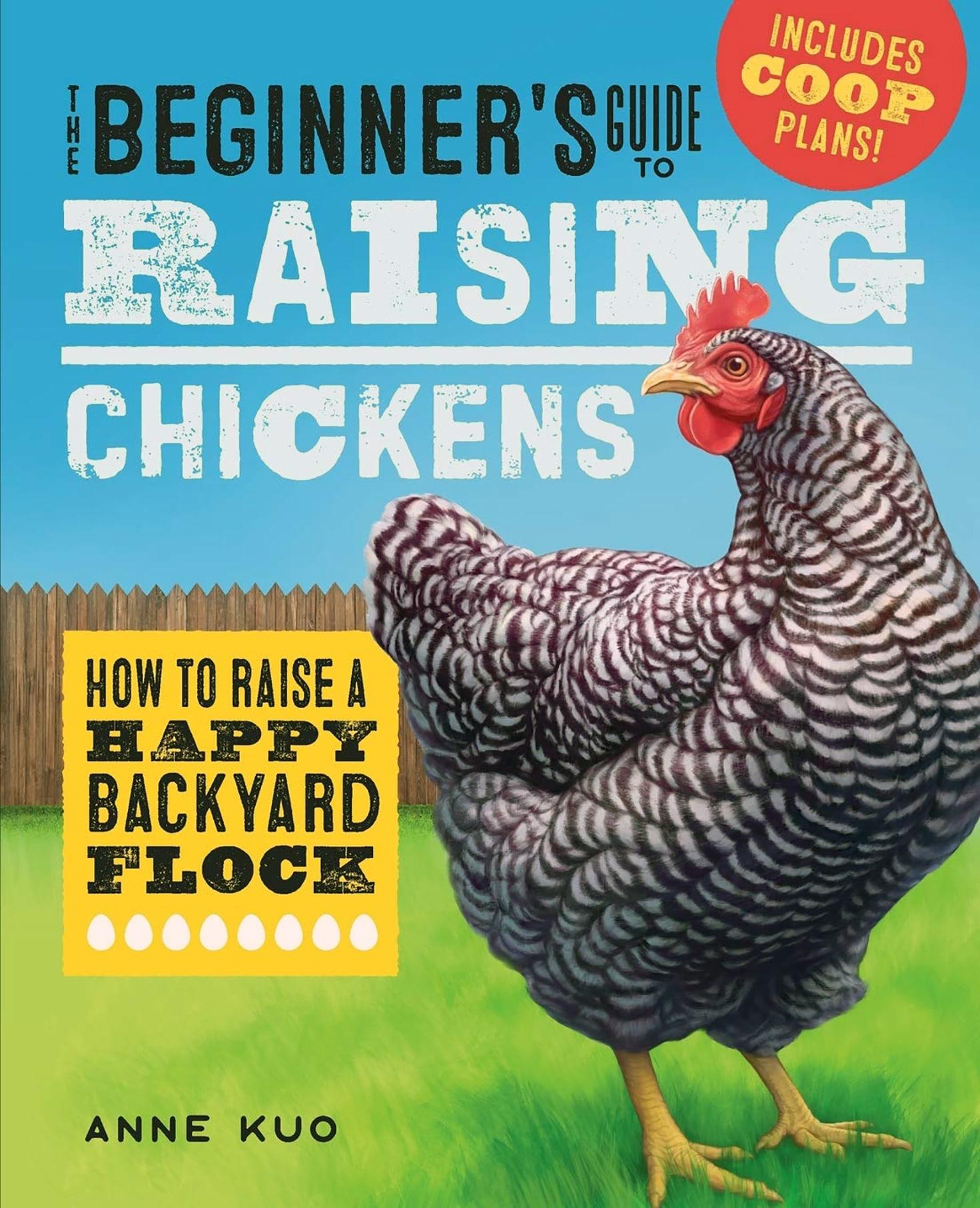 books on raising chickens