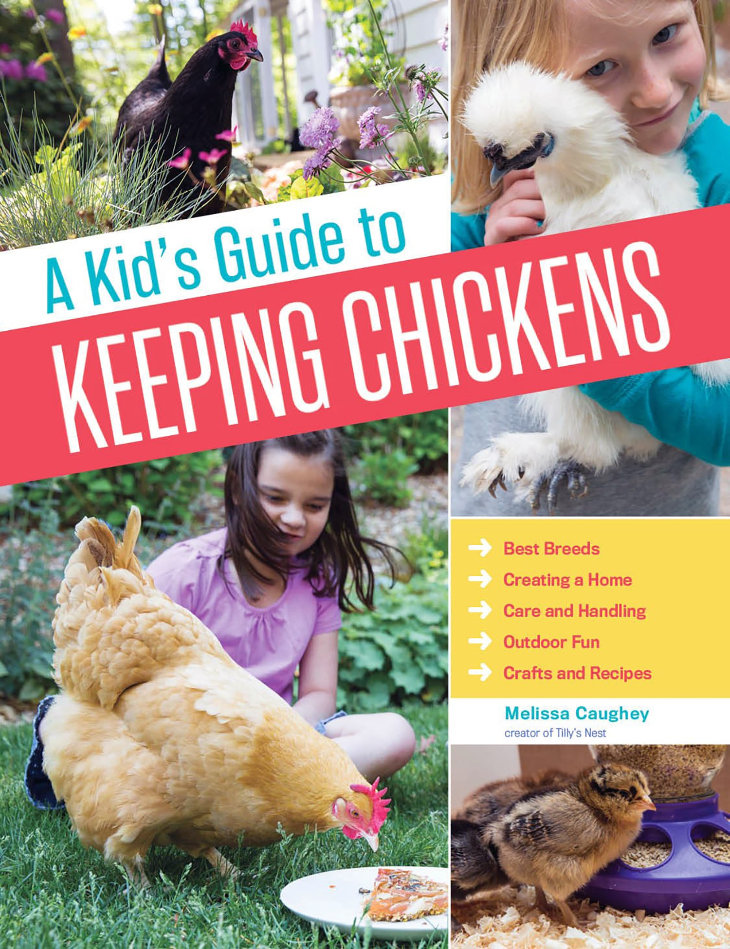 Children's books about chickens