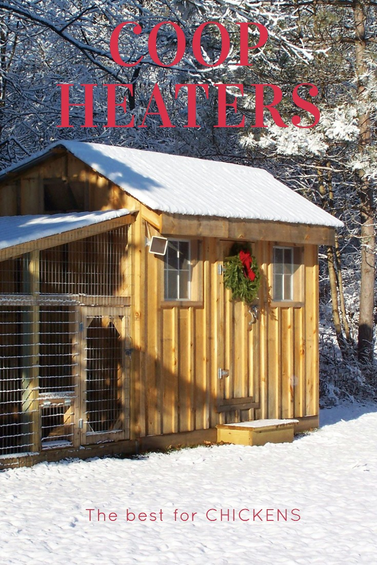 How to safely heat a chicken coop
