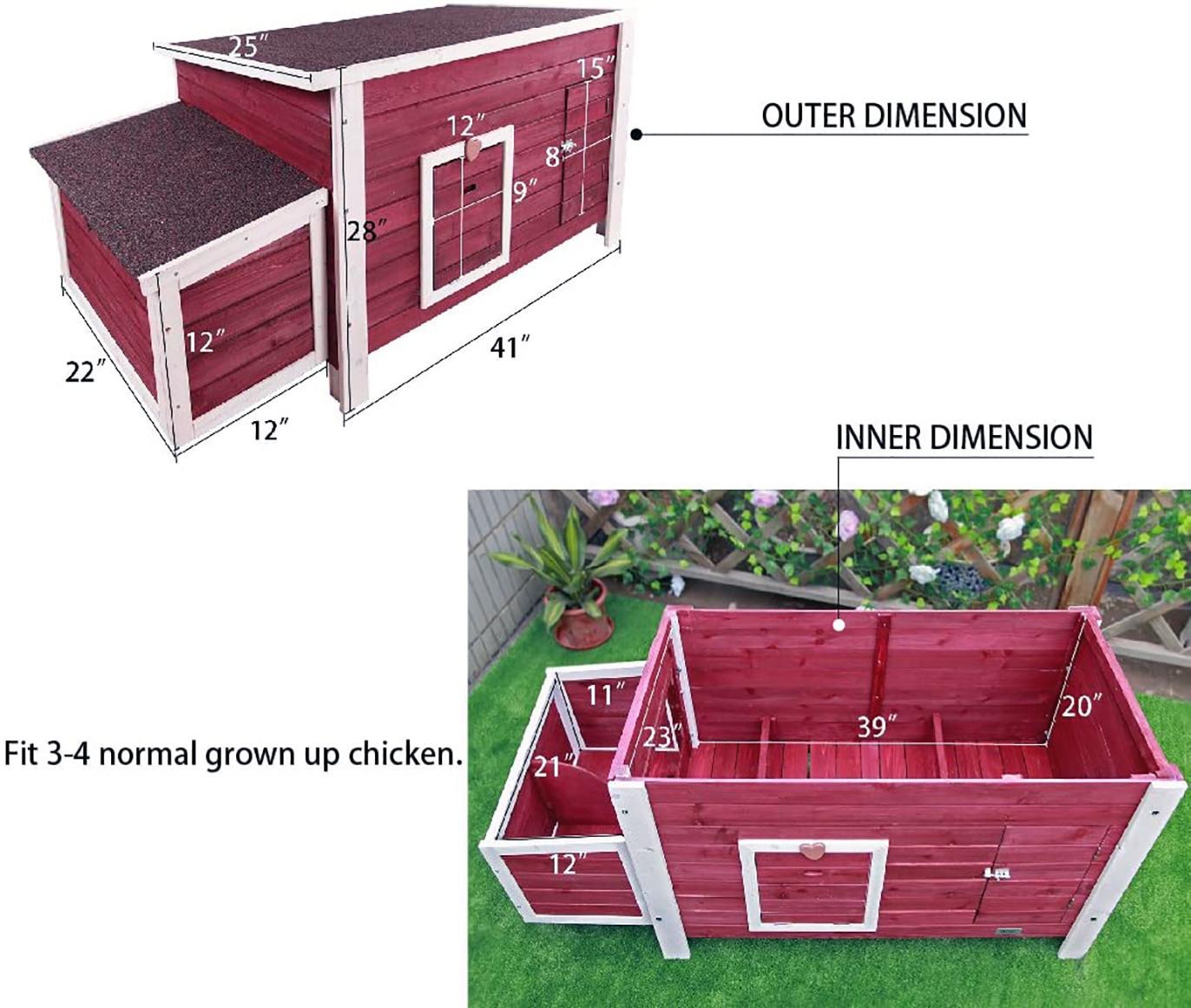 Weatherproof hen house
