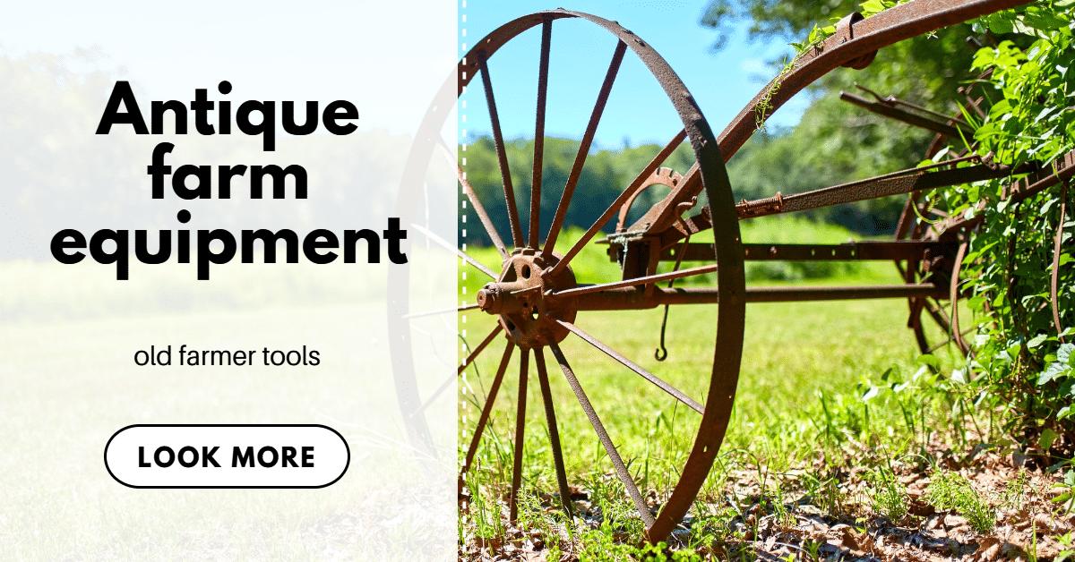old farmer tools