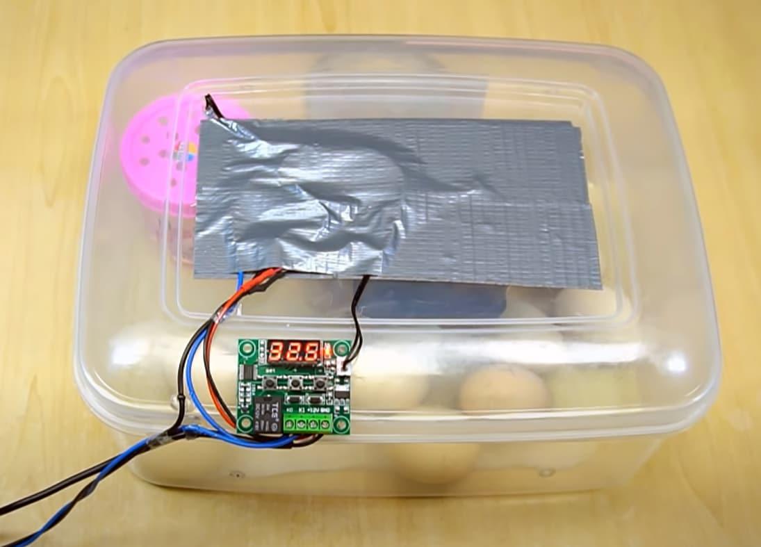 DIY incubator - step by step