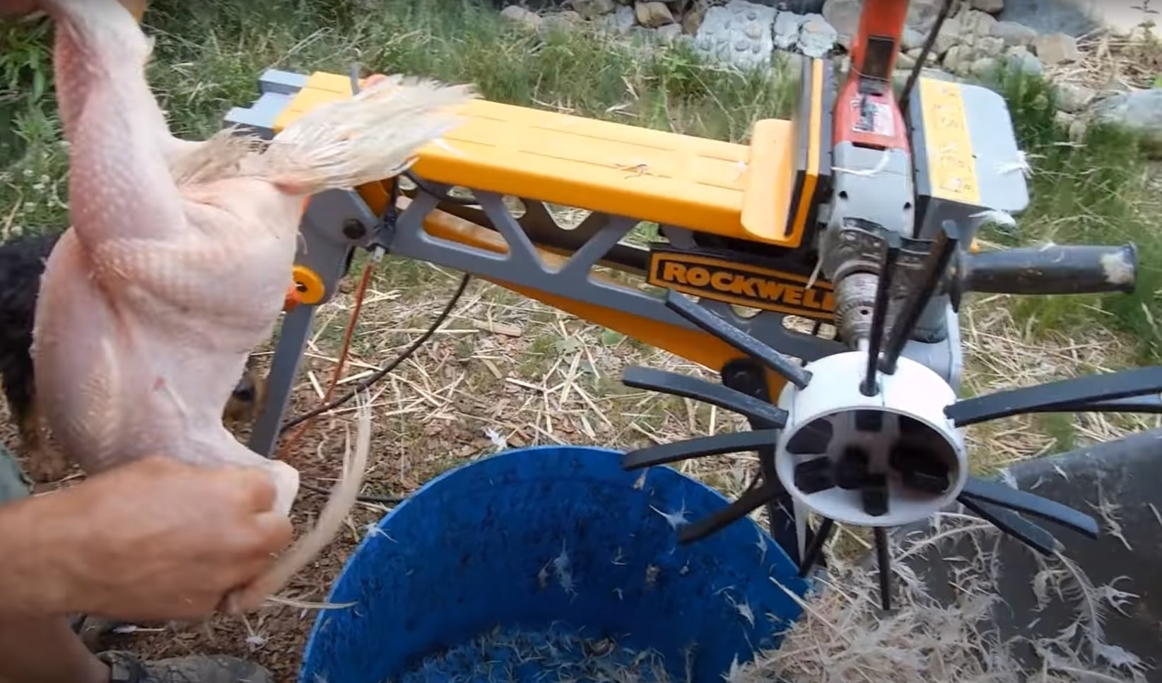 Plucker Drill Attachement